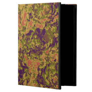 Vibrant flower camouflage pattern case for iPad air