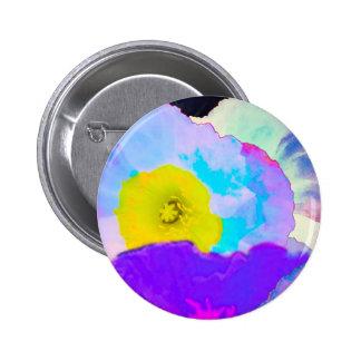 Vibrant Flowers 6 Cm Round Badge