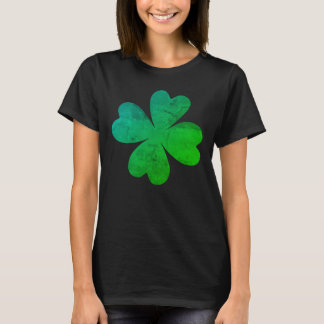 Vibrant green shamrocks T-Shirt