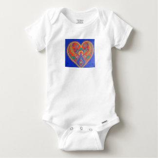 Vibrant Heart baby suit Baby Onesie