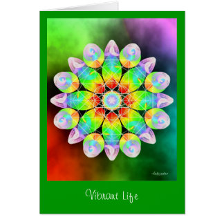 Vibrant Life Card