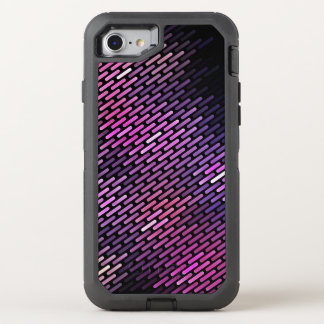 Vibrant Line Texture OtterBox Defender iPhone 7 Case