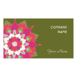 Vibrant Lotus Natural Health and Wellness Pack Of Standard Business Cards