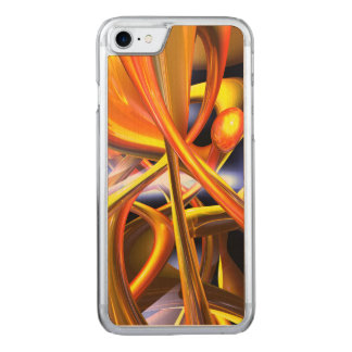Vibrant Love Abstract Carved iPhone 8/7 Case