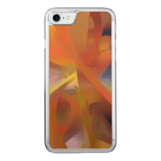 Vibrant Love Pastel Abstract Carved iPhone 8/7 Case