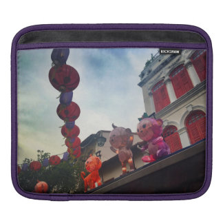Vibrant Monkey iPad sleeve