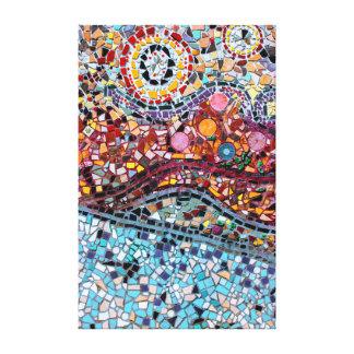 Vibrant Mosaic Wall Art Canvas