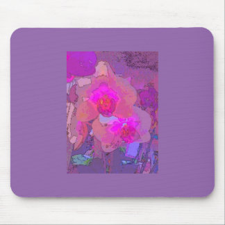 Vibrant orchids will brighten your day. mouse pad