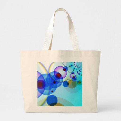 Vibrant pattern- Bluish Tinge ! Tote Bag