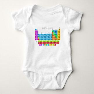 Vibrant Periodic Table Tshirt