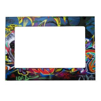 Vibrant photo frame - street art