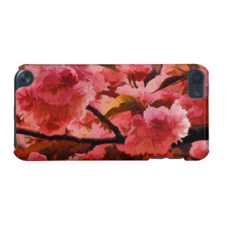Vibrant Pink Cherry Blossoms iPod Touch 5G Covers