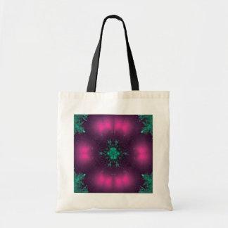 Vibrant Purple Flower Kaleido-Tote Tote Bag