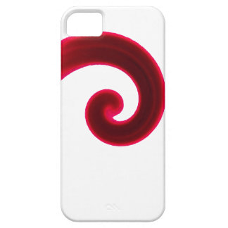 Vibrant Red Swirl iPhone 5 Cover