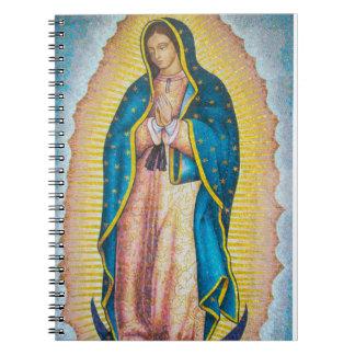 Vibrant Religious Icon Notebook