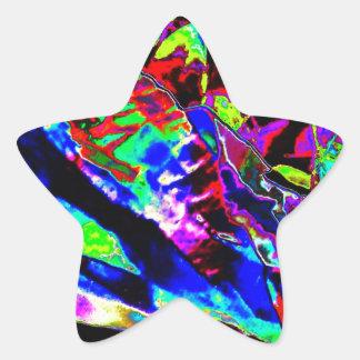 Vibrant Scatter Star Sticker