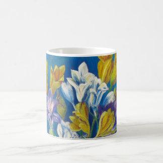Vibrant Spring Freesia  Posy Ceramic Mug