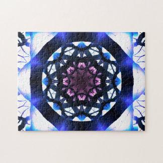 Vibrant Star Mandala | Meditation Jigsaw Puzzle