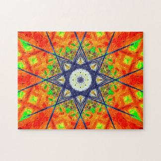 Vibrant Star Mandala Puzzles