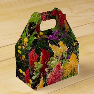 Vibrant Summer Flower Garden in Orlando Florida Favour Box