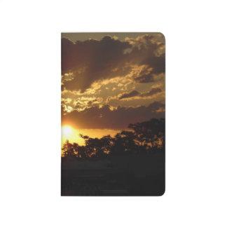 Vibrant Sunset Journal