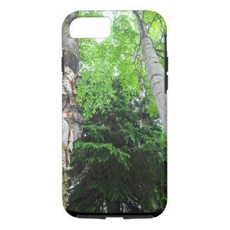 Vibrant Tall Trees phone case