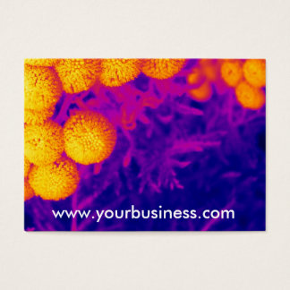 Vibrant Tansy Business Card