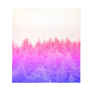 Vibrant Trees Notebook Notepad