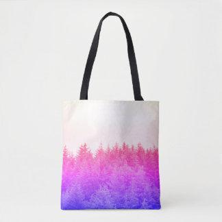 Vibrant Trees Tote Bag