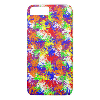 Vibrant Trippy Jiggle Pattern iPhone 7 Plus Case
