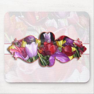Vibrant Tulips Mousepad