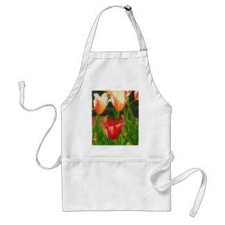 Vibrant Tulips Standard Apron