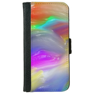 Vibrant Waves iPhone 6 Wallet Case