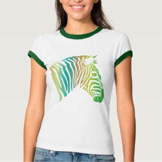 vibrant zebra T-Shirt