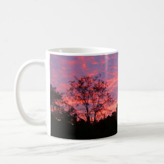 Vibrantly Pink Sunrise Coffee Mug