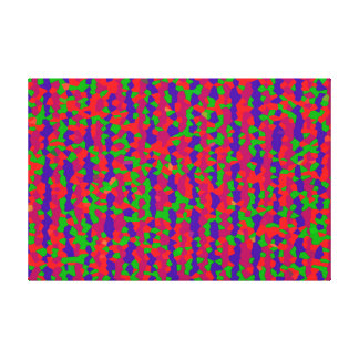 VIBRATING STRINGS MELTING TOGETHER IN THE ELEVENTH CANVAS PRINT