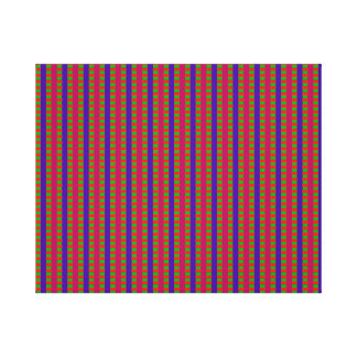 VIBRATING STRINGS OF THE ELEVENTH UNIVERSE FROZEN CANVAS PRINT