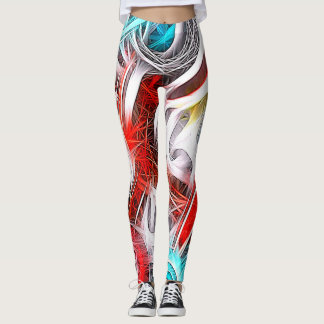 Vibrational Energy flowing Leggings