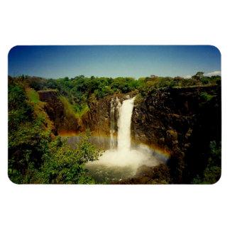 vic falls rectangular photo magnet