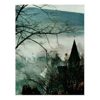 VIC sur CERE Cantal France Church postcard