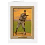 Vic Willis Pirates Cardinals Baseball 1911 Greeting Card