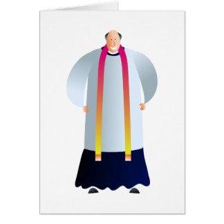 Vicar Greeting Card