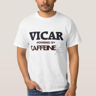Vicar Powered by caffeine T-Shirt