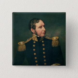 Vice Admiral Robert Fitzroy 15 Cm Square Badge