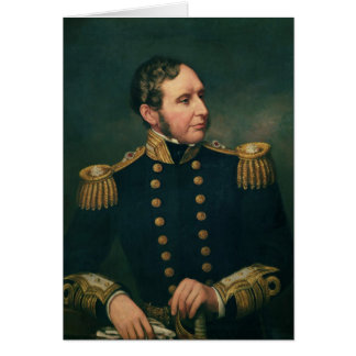 Vice Admiral Robert Fitzroy Greeting Card