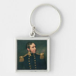 Vice Admiral Robert Fitzroy Keychain