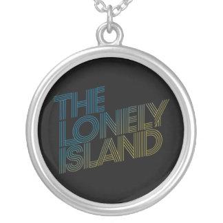 Vice Beach Round Pendant Necklace