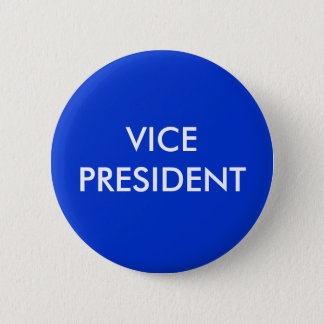 VICE PRESIDENT 6 CM ROUND BADGE
