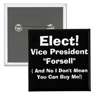 Vice President Pinback Buttons