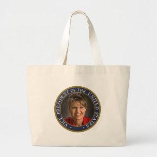 Vice President Sarah Palin Jumbo Tote Bag